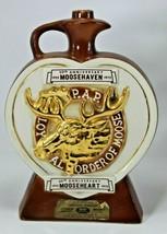 Loyal Order of Moose 50th Anniversary Moosehaven Decanter Halliburton - ... - $19.79