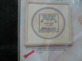 Sandi Phipps BABIES ARE GOD'S MOST PRECIOUS GIFT BIRTH ANNOUNCEMENT KIT-... - $6.00
