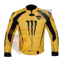 DAINESE 1010 YELLOW WATERPROOF COWHIDE LEATHER MOTORCYCLE MOTORBIKE ARMO... - $289.99