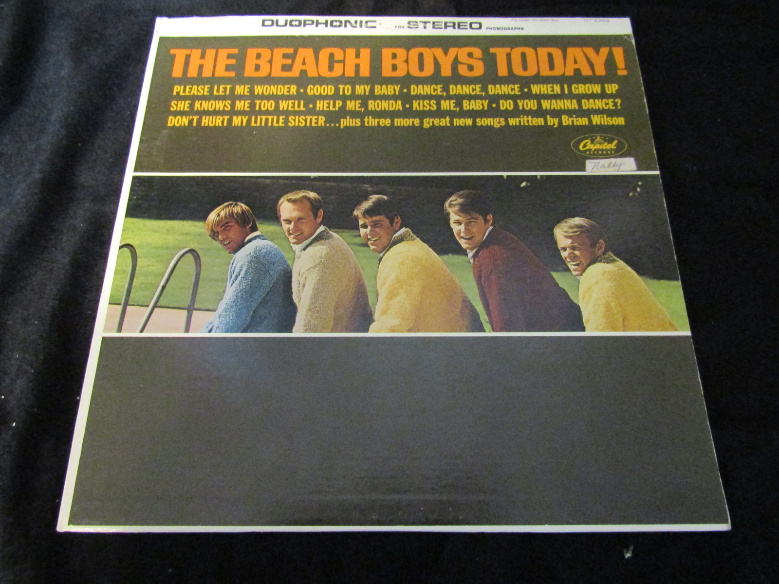 Primary image for The Beach Boys Today Capitol DT-2269 Duophonic Record Album LP W/ Original Inner