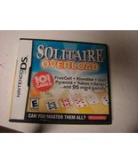 Solitaire Overload - Nintendo DS Game - $6.88