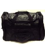 4-in-1 Patchwork Leather Duffle Bag / Backpack / Messenger Bag / Fanny Pack - $69.95
