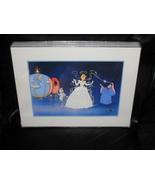 1995 Disney Cinderella Framed Lithograph - $24.99