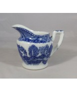"""Creamer Blue Willow Child's Size 2.5"""" Tall Labeled -Japan in Blue Vintag... - $3.47"""