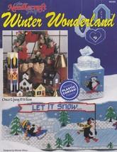 Winter Wonderland, Plastic Canvas Pattern Booklet TNS 903302 Penguins Re... - $4.95
