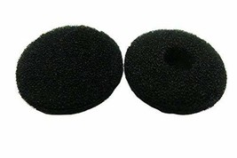 3/4 inch Black Replacement Foam Covers, Ear Covers for iPod, iPhone, iTo... - $0.97