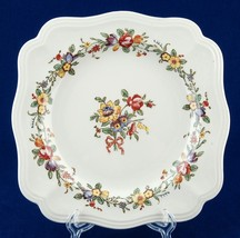 "Royal Doulton Leighton 7-7/8"" Square Salad Plate D6164 Vintage China - $12.00"
