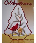 "CELEBRATIONS HOLIDAY CARDINAL 10"" TREE PLATE - $16.00"