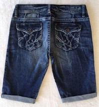New SILVER Jeans Sale Buckle Low Cassie Flap Pocket Denim Stretch Jean Shorts 27 - $18.67