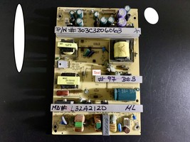 POWER SUPPLY PT# 303C3206063 HAIER MD# L32A2120 100% FULL WORKING - $23.77