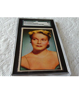 1953  BOWMAN   CLAUDIA  MORGAN  #  54  TELEVISION & RADIO  STARS / NBC  ... - $34.99