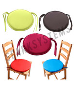 New Round Removable Chair Cushion Seat Pads Patio Garden Office Dining K... - $7.80+
