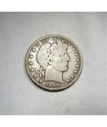 1908-O Silver Barber Half Dollar CH VG Coin AJ560 - $33.80