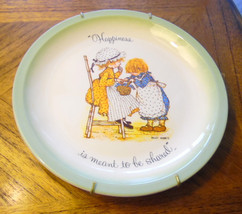 Happiness is meant to be shared.  Hollie Hobbie, w hanger, 1970s collect... - $9.99