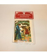Vintage 1986 Jack & The Beanstalk Die-Cut Fold Out Panorama Shackman Col... - $14.99