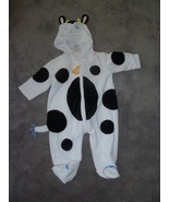 TODDLER COW HALLOWEEN COSTUME SIZE 6 MONTHS 12 ... - $12.50