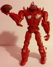 "WISCONSIN BADGERS FOX SPORTS CLEATUS ROBOT 10"" Football Action Figure GO... - $9.94"