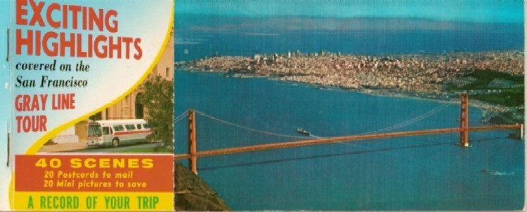 Primary image for San Francisco Postcard Folio - 1970s