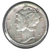 Primary image for Nice 1945 S Mercury Dime