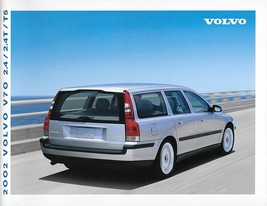 2002 Volvo V70 sales brochure catalog US Canada 02 2.4T T5 AWD - $8.00