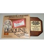 Deadline, Vintage Atari 8-Bit Computer Game, In... - $90.00