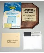 Galaxy Wars, Vintage Apple II Computer Game, Broderbund - $196.00