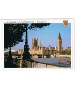 United Kingdom UK Postcard London Houses Of Parliament - $2.11