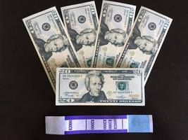 2.000 Prop Money Replica 20s New Style All Full Print For Movie Video Etc. - $22.99