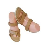 ECCO Women's Tan Leather Strap Sandals sz 7M ( Used 3X) - $27.72