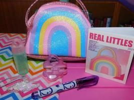"18"" Doll School Accessories Glitter Rainbow Purse American Girl Our Generation - $21.77"