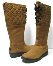 UGG ELSA DECO WOMEN TALL BOOTS CHESTNUT US 9.5 / UK 8 / EU 40.5 - $178.19