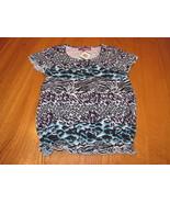 Girls Epic Threads shirt Iced Aqua M medium MD NWT^^ - $5.54