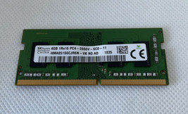 Dell 13 3379 SKhynix SO-DIMM RAM Memory 4GB 1Rx16 PC4-2400T HMA851S6AFR6... - $13.76