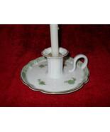 Haviland Bonneval white candle holder excellent condition - $19.75