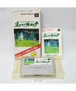 Nintendo Snes Harukanaru Augusta W / Packung Aktiv Sfc Spiele 1912-390 - $11.07