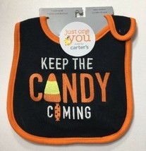 Just One You by Carter's Halloween Bib BABY BOY or GIRL Keep The Candy C... - $9.80