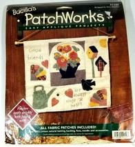 Bucillas Fabric Patchworks Easy Appliqué Projects 41150 Friendship Sampler - $12.86
