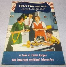 Vintage Derby Peter Pan Peanut Butter Choice Recipe Advertising Booklet ... - $11.95