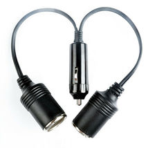 Dual Car Cigarette Lighter Splitter Charger Power Socket Adapter 12v Aut... - $13.22