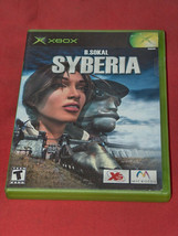 Syberia Xbox 2003 Action Adventure Video Game W/ Instructions - $8.71