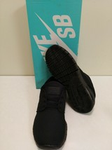 NIKE SB STEFAN JANOSKI MAX  BLACK SKATE SHOES 6.5 - $64.34