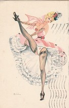France postcard of Can Can dancer 18 06 1959 see rest - $1.59