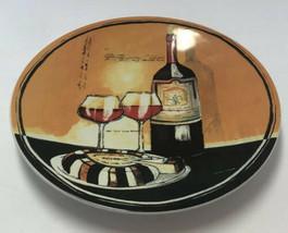 Gourmet Basics By Mikasa Sip & Slice Jennifer Garant Wine & Cheese Plate... - $9.89