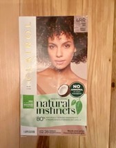 Clairol Natural Instincts Ammonia Free 4RR Dark Red Hair Dye Lasts 28 Washes - $14.96