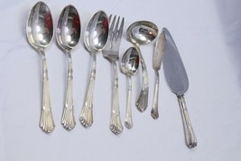 Gorham Churchill Serving Pieces Electroplate Lot of 8 - $61.73