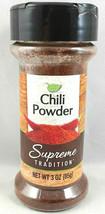 Supreme Tradition Chili Powder Seasoning 3 oz Free Expedited Shipping - $9.99