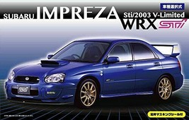 1/24 Inch up Series No.103 Subaru Impreza WRX Sti / 2003 V-limited - $32.01