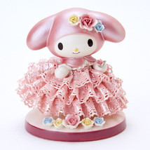 My Melody 40th.Porcelain Ceramic Lace Doll Stuffed JapanLimited Plush Fi... - $321.75
