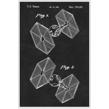 Star Wars Tie Fighter Patent Blueprint , Toys a... - $11.50 - $15.50