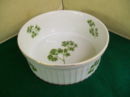 Vintage Andrea by Sadek Pasley Oven to Table Cookware Souffle Dish 7378   - $23.38
